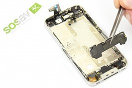 Repair tutorial for iPhone 4 : Speaker