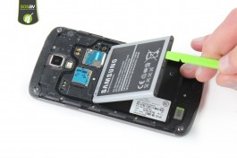 Tuto réparation Samsung Galaxy S4 Active : Batterie
