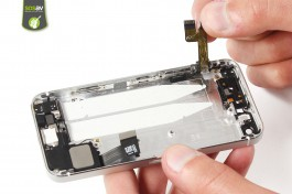 Tuto réparation iPhone 5S : Nappe power, vibreur & volume