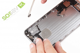 Repair tutorial for iPhone 6 Plus : Power Button
