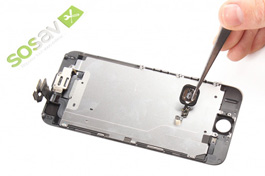 Repair tutorial for iPhone 6 : Home button