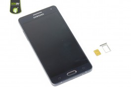 samsung galaxy a5 carte sim SIM card tray Samsung Galaxy A5 repair   Free guide   SOSav
