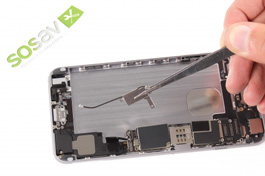 Repair tutorial for iPhone 6 Plus : Vibrator and interconnect cable