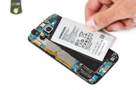 Tuto réparation Samsung Galaxy S6 : Batterie