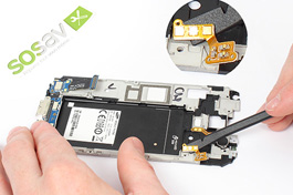 Tuto réparation Samsung Galaxy S5 : Nappe bouton Volume