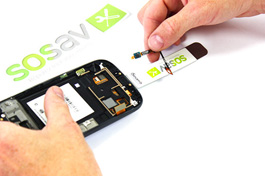 Tuto réparation Samsung Galaxy S3 : Nappe boutons tactile
