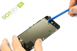 Repair tutorial for iPhone 5C : Home Button Cable
