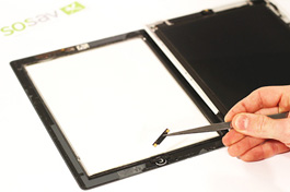 Tuto réparation iPad 2 3G : Nappe bouton home