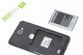 Tuto réparation Samsung Galaxy Note 1 : Batterie
