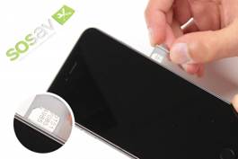 Repair tutorial for iPhone 6 Plus : SIM Card Tray
