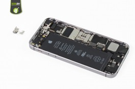 Repair tutorial for iPhone SE : Vibrator