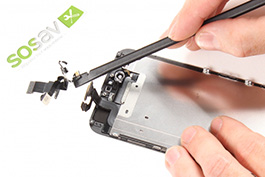 Repair tutorial for iPhone 6 : Front Camera, Proximity sensor and Microphone Cable