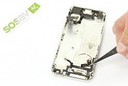 Tuto réparation iPhone 5: Antenne WiFi