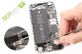 Repair tutorial for iPhone 6 : Vibrator