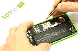 Repair - Repair guide: SIM Card Tray Lever iPhone 5C