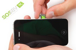Reparation Installation Carte Sim Iphone 4 Guide Gratuit Sosav Fr
