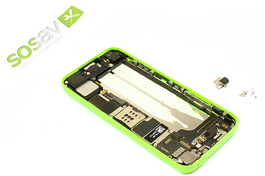 Repair tutorial for iPhone 5C : Vibrator