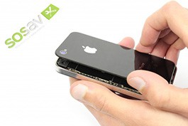 Repair tutorial for iPhone 4 : Rear Panel