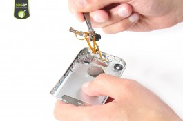 Repair tutorial for iPhone (1st generation) : Tablecloth jack + vibrator + power button and volume