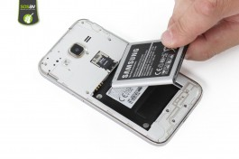 Tuto réparation Samsung Galaxy Core Prime : Batterie