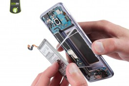 Repair tutorial for Samsung Galaxy S8  : Complete disassembly