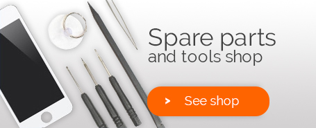 Spare parts shop for iPhone, iPad, Galaxy...